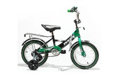 """Велосипед Марс 12"""" ручка+эксцентрик (зеленый/черный), фото 1"""