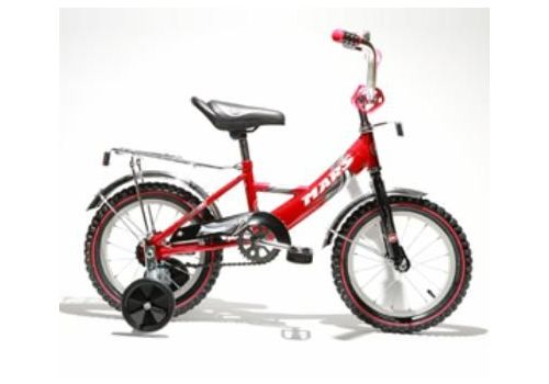 """Велосипед Марс 20"""" ручной тормоз+эксцентрик (красный/черный), фото 1"""