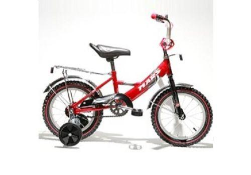 """Велосипед Марс 16"""" ручной тормоз+эксцентрик (красный/черный), фото 1"""