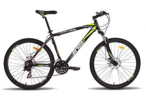 """Велосипед 26"""" Pride XC-26 Disk 2014 черно-зеленый матовый, фото 1"""