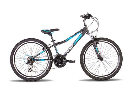 """Велосипед 24"""" Pride Brave 2014 черно-синий матовый, фото 1"""