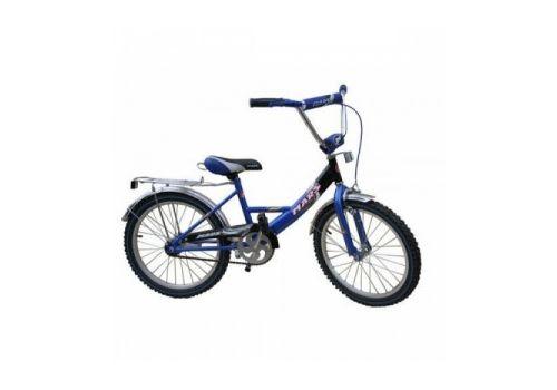 """Велосипед Марс 20"""" ручной тормоз+эксцентрик (синий/черный), фото 1"""