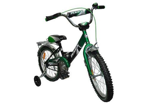 """Велосипед Марс 16"""" ручной тормоз+эксцентрик (зеленый/черный), фото 1"""