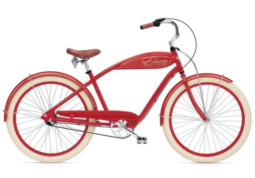 "Велосипед 24"" Electra Indy 3i red men's, фото 1"
