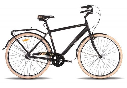 """Велосипед 28"""" Pride Comfort MAN 2014 черно-бежевый матовый, фото 1"""
