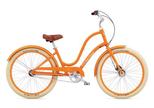 """Велосипед 26"""" Electra Townie Balloon 3i Ladie tangerine, фото 1"""