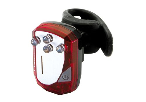 Свет задний Longus 4LED 5-ф зарядка USB -красн Special Edition, фото 1