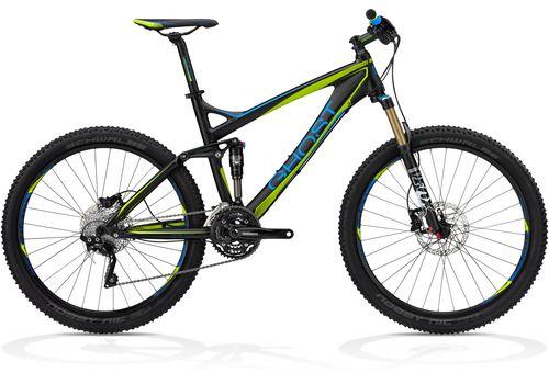 Велосипед Ghost AMR 5700 black/blue/lime green 2013, фото 1