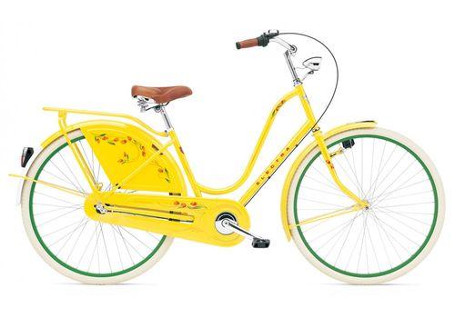 """Велосипед 28"""" Electra Amsterdam Classic 3i yellow tulip ladies, фото 1"""