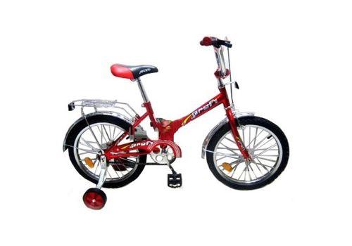 """Велосипед Марс 14"""" ручной тормоз+эксцентрик (красный/черный), фото 1"""