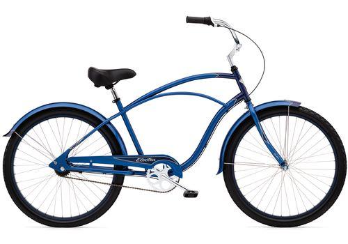 "Велосипед 26"" Electra Cruiser Custom 3i Men's blue/dark blue, фото 1"