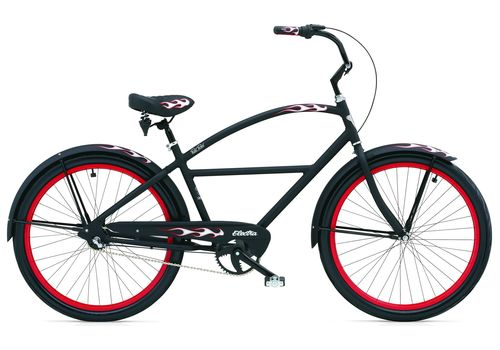 "Велосипед 26"" Electra RatRod 3i Men's (Alloy) Matte Black, фото 1"