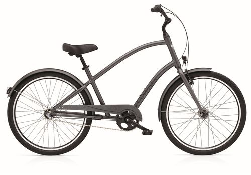 "Велосипед 26"" Electra Townie Original 3i Men's satin Graphite (BIC-17-58), фото 1"