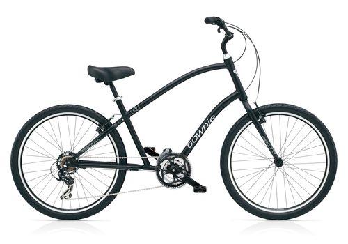 "Велосипед 26"" Electra Townie Original 21D Men's Black satin (BIC-17-61), фото 1"