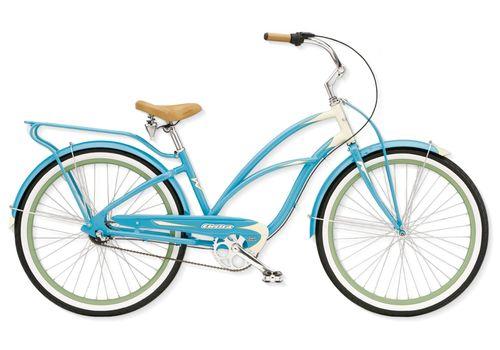 """Велосипед 26"""" Electra Super Deluxe 3i Ladies' (Alloy) Aqua/Cream (BIC-18-59), фото 1"""
