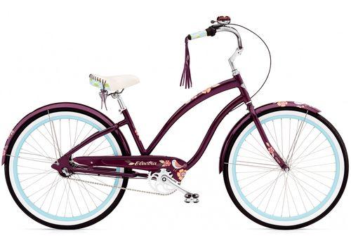 """Велосипед 26"""" Electra Wren 3i Ladies' Aubergine (BIC-18-76), фото 1"""