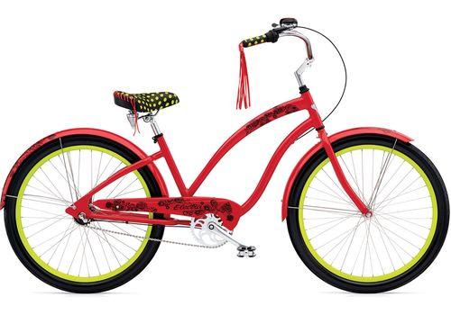 "Велосипед 26"" Electra Lace 3i Ladie red, фото 1"