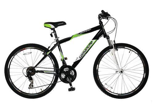 Велосипед Comanche Ontario Черный-зеленый, фото 1