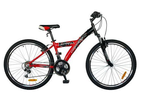 """Велосипед Comanche Ontario Fly Черный-красный (рама 14""""), фото 1"""