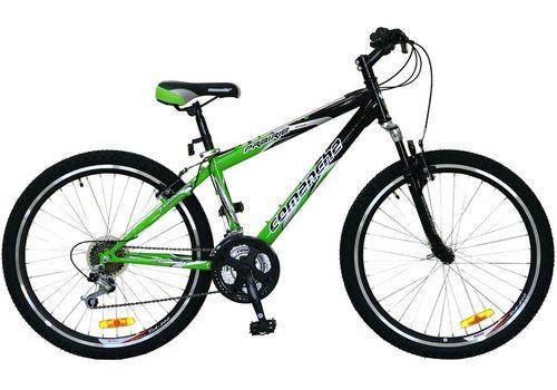 Велосипед Comanche Prairie Черный-зеленый, фото 1