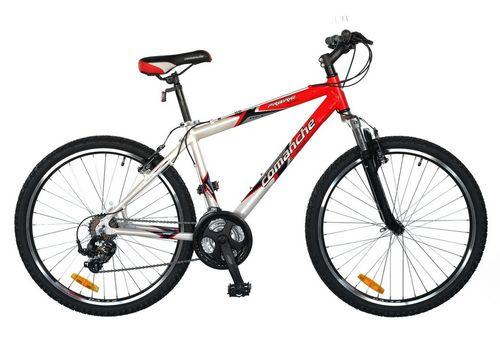 """Велосипед Comanche Prairie Comp Красный-белый (рама 17""""), фото 1"""