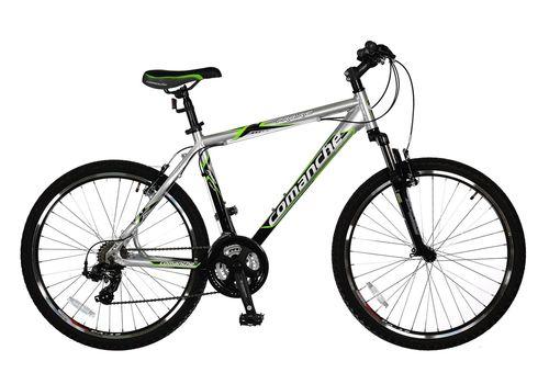 Велосипед Comanche Prairie Comp Серебристый-зеленый, фото 1