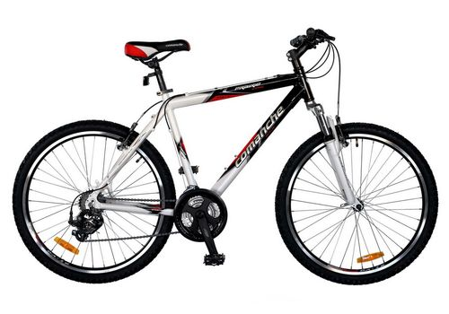 Велосипед Comanche Prairie Comp Черный-белый-красный, фото 1