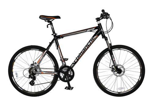 Велосипед Comanche Niagara Disc Черный-оранжевый-стальной, фото 1