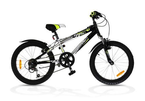 """Велосипед Comanche Moto Six Чорний-сріблястий (рама 10""""), фото 1"""