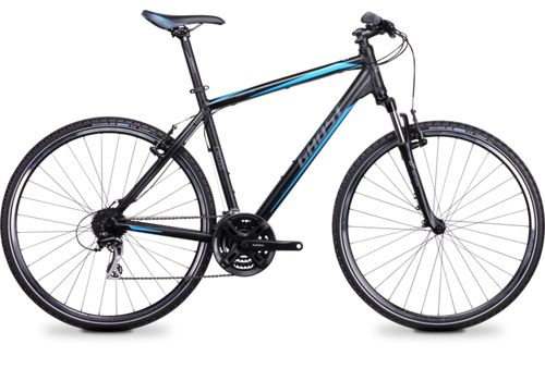 Велосипед Ghost Cross 1100 black/grey/blue 2014, фото 1