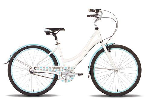 "Велосипед 26"" Pride Classic 2014 бело-синий, фото 1"