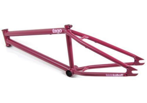 """Рама BMX FLYBIKES LAGO 21"""" flat burgundy 2011, фото 1"""