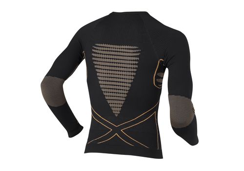 Термофутболка X-Bionic Energy Accumulator Man Shirt Long Sleeves B078 Black / Orange (I020093), фото 2