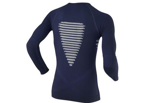 Мужская термофутболка X-Bionic Energizer Man Shirt Long Sleeves Roundneck X39 Black-Orange (I20100), фото 3