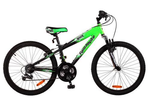 """Велосипед Comanche Indigo Зеленый-черный (рама 11""""), фото 1"""