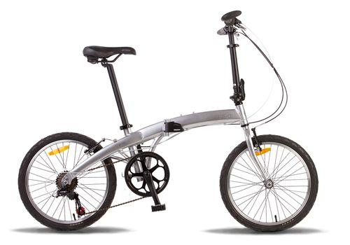 """Велосипед 20"""" Pride Mini 6sp 2014 серебристый, фото 1"""