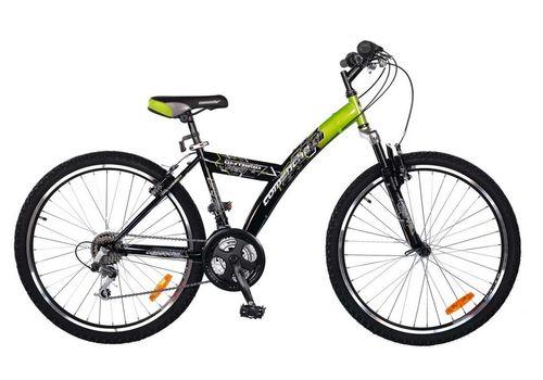 Велосипед Comanche Ontario Fly Черный-зеленый, фото 1