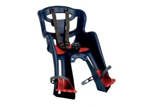 Сиденье переднее Bellelli TATOO Sportfix детское до 15кг (синий с красным), фото 1