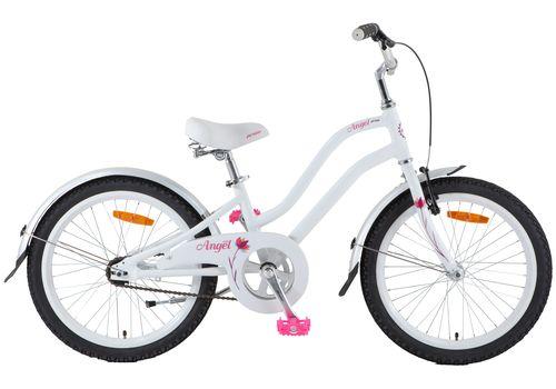 "Велосипед 20"" Pride Angel 2014 бело-розовый, фото 1"