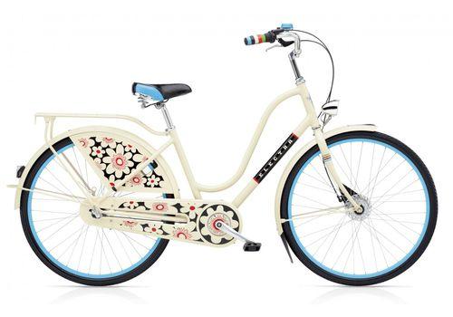 "Велосипед 28"" Electra Amsterdam Fashion 3i Bloom Ladies' Cream (SKDU-28-35), фото 1"