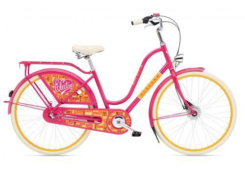 "Велосипед 28"" Electra Amsterdam Fashion 3i Joyride bright Pink (SKDU-28-37), фото 1"