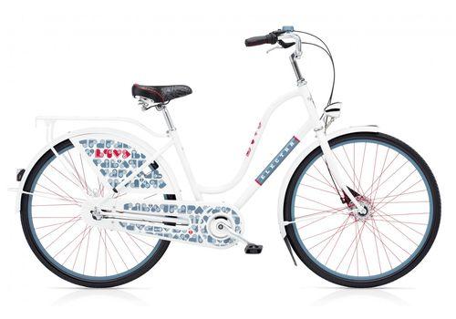 "Велосипед 28"" Electra Amsterdam Fashion 3i Love white ladies', фото 1"