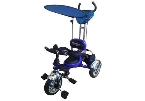 Велосипед 3-х колесний Mars Trike надувные колеса (синий), фото 1