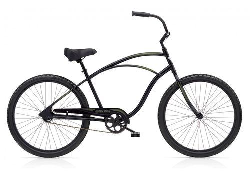 "Велосипед 26"" Electra Cruiser 1 Men's 2014 black satin, фото 1"