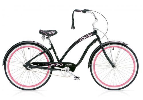 """Велосипед 26"""" Electra Black Betty 3i Ladie black, фото 1"""