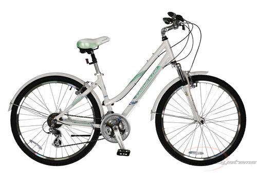 "Велосипед Comanche Holiday Lady Белый-бирюзовый (рама 18""), фото 1"