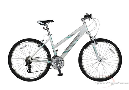 "Велосипед Comanche Niagara Lady Белый-бирюзовый (рама 17""), фото 1"