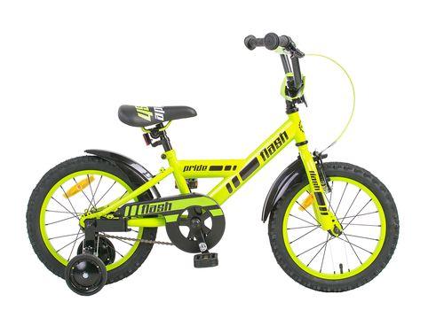 """Велосипед 16"""" PRIDE Flash 2014 зелено-черный, фото 1"""