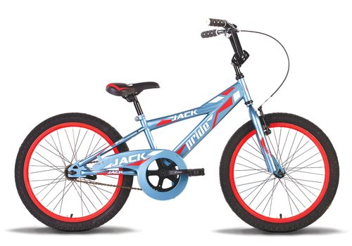 """Велосипед 20"""" Pride Jack 2014 серо-красный матовый, фото 1"""