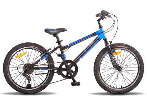 """Велосипед 20"""" Pride Jack 6 2014 черно-синий матовый, фото 1"""